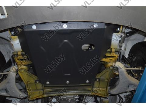 Защита двигателя и КПП VOLKSWAGEN LT c 1996-2006  металлическая
