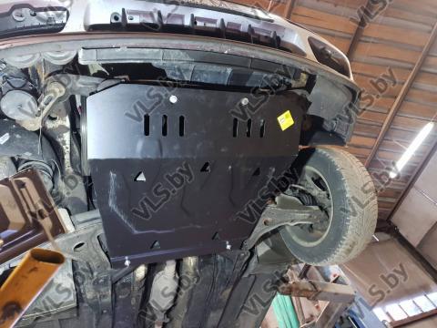 Защита двигателя КПП VOLKSWAGEN GOLF 2 металлическая