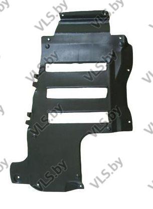 Защита двигателя VOLVO S40 до ..-2000 продольная левая (дизель/бензин)
