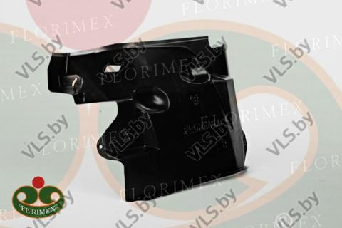 Подкрылок IVECO DAILY с 2001 - 2006 передний левый задняя часть, оригинальный номер 500337036