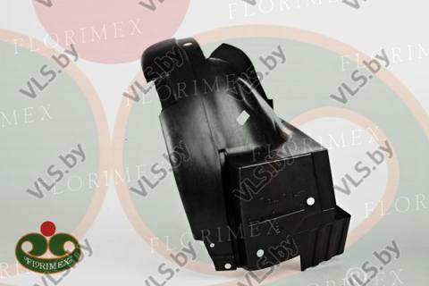 Подкрылок RENAULT TRAFIC с 2001-2006 левый передний задняя часть, оригинальный номер 8200291638
