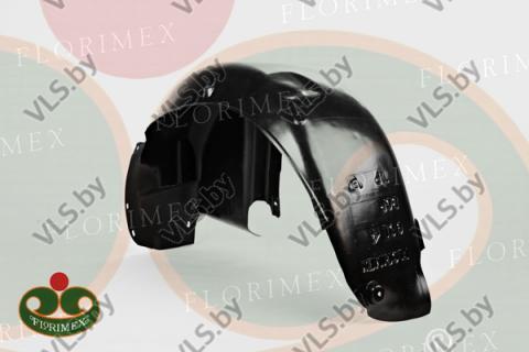 Подкрылок Volkswagen BORA с 97-... правый задний , пластик, производство Польша, оригинальный номер 1J0810972J