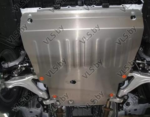 Защита картера и КПП Skoda Octavia 1 до ...-2004 (алюминиевая)